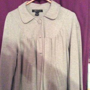 NWOT light gray coat